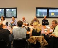 Premier Petit-déjeuner rencontre chez DHL, le 11 septembre 2012
