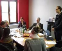 Table ronde de la créativité à Awans (28/03/2013)