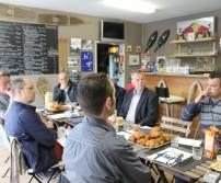 Deuxième réunion des entreprises de l'E40 Business Park (6 mai 2014)
