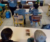Animation à l'école Saint-Joseph d'Awans (octobre 2020)